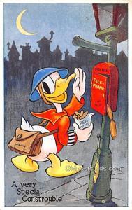Valentine & Sons # 335 Walt Disney Unused