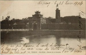 CPA AK VIETNAM TONKIN Bac-Ninh - Entrée de la Citadelle (62567)