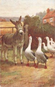 Sydney Hayes. Shar and share alike Tuck Oilette Our Farm Ser.PC # 9360
