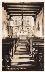 RP, Mission San Juan Capistrano, Southern California, 1920-1940s