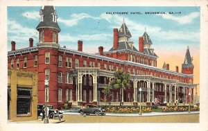 Military Post Card Ogelthorpe Hotel Brunswick, Georgia USA 1931