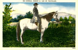 Gen. Robert E. Lee on Traveller - Confederate