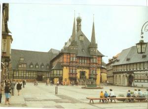 Germany, Wernigerode, Rathaus, unused Postcard