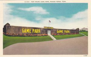 Fort Weare Game Park, Pigeon Forge, Tennessee, 1930-1940s