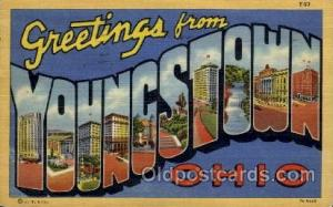Youngstown, Ohio Large Letter Town Towns Post Cards Postcards  Youngstown, Oh...