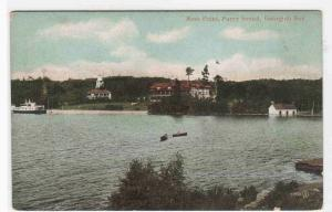 Rose Point Parry Sound Georgian Bay Ontario Canada 1910c postcard