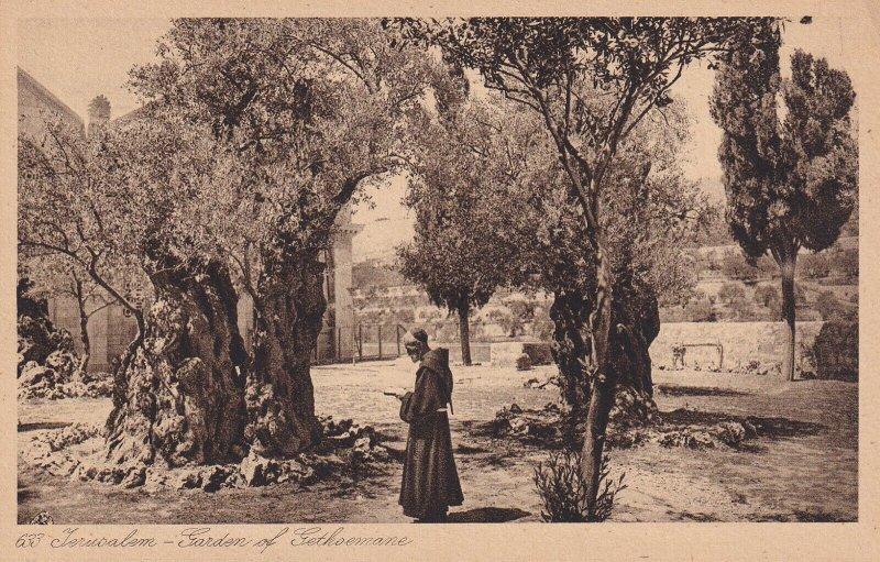 JERUSALEM, Israel, 1900-1910s; Jardin De Gethsemanie