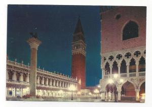 Italy Venice Ducal Palace Piazzetta St Mark Postcard 4X6