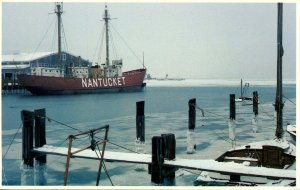 MA - Nantucket Harbor. Lightship Nantucket