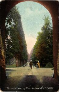CPA ARNHEM Groote Laan op Mariendaal NETHERLANDS (604662)
