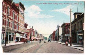 Main St. Marshalltown Iowa