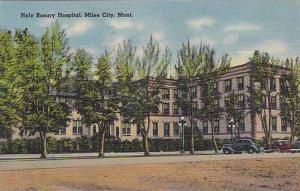 Holy Rosary Hospital, Miles City, Montana, PU-1915