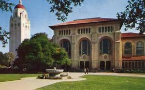CA - Stanford. Stanford University Library and Hoover Tower