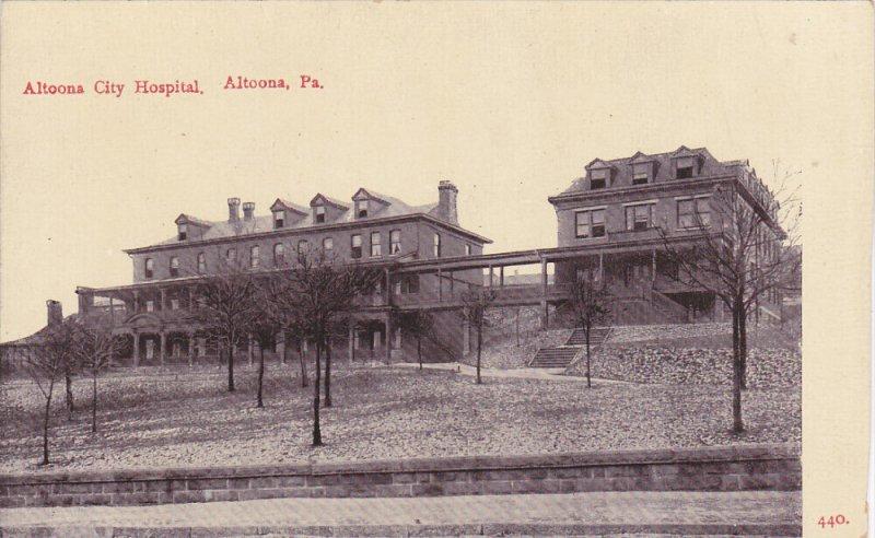 ALTOONA, Pennsylvania, 1900-1910´s; Altoona City Hospital