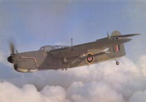 Postcard Fairey Barracuda Mk1 P9659 RAF Aircraft After The Battle Series No.15