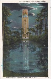 Florida Lake Wales Night Time The Singing Tower Mountain Lake Sanctuary