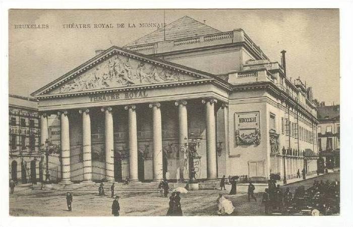 Theater, Bruxelles, Belgium, PU-1907