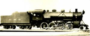 Central New England RR #511  *REAL PHOTO (3 X 7.5). Not a Postcard