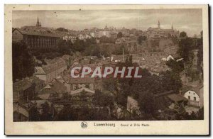 Luxembourg Grand Old Postcard and uptown