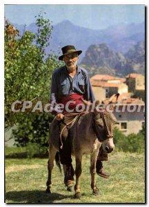 Modern Postcard Corsica Ile De Beaute Types