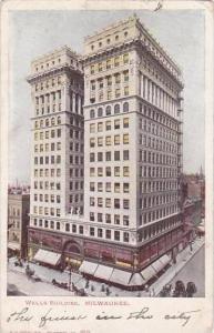 Wisconsin Milwaukee Wells Building 1906