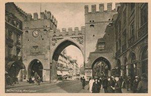 Munchen, Germany - Karlstor - Munich - City Gate - DB