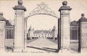 Entree Du Chateau, Sully Pres Autun, Saone Et Loire, France, 1900-1910s