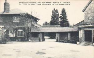 Virginia Norfolk Hermitage Foundation Lochaven Pattern In Courtyard Entrance ...