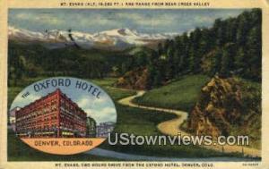 Oxford Hotel, Mt. Evans