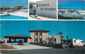 Tuscon Arizona~Voyager RV Resort~Allegro Motorhome Camper & Pool 1975 PC