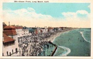 California Long Beach Ocean Front