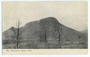 Mount Sheridan, Meers, Oklahoma, OK, 1909 Divided Back
