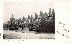 Great Britain, 1903 Woking Postcard Used, Woking and Pirbright Postal Markings