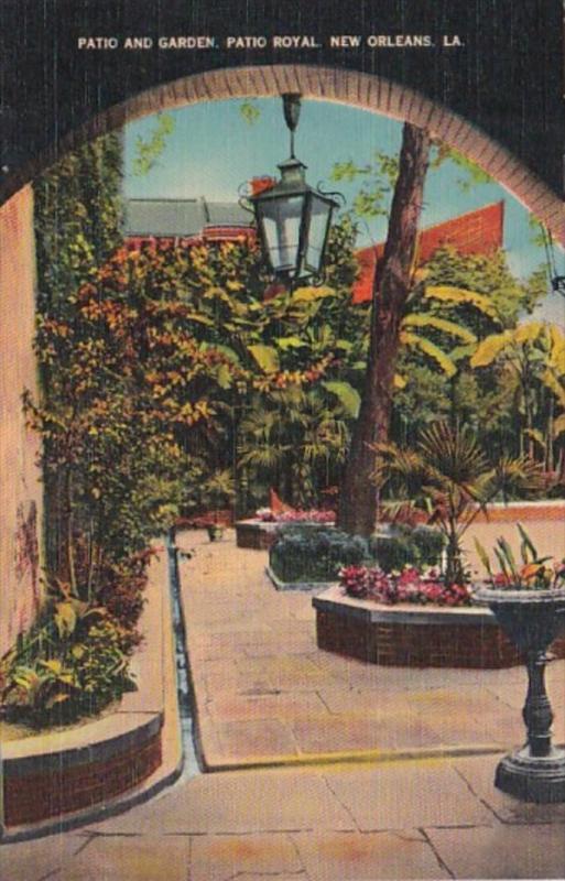 Louisiana New Orleans Patio Royal Patio and Garden