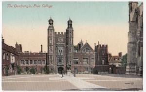 Berkshire; Eton College, The Quadrandgle PPC, Unposted, By Valentines