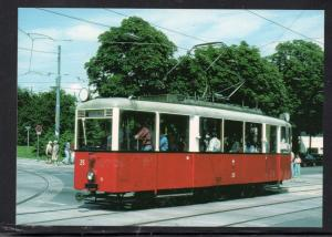 Colour PC Vienna Streetcar unused