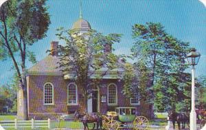 Old Court House Williamsburg Virginia