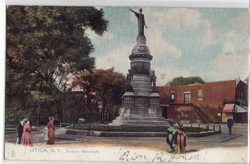 Soldiers Monument, Utica NY