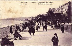 CPA  Cote d'Azur - Nice - Promenade des Anglais     (203256)