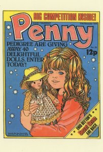 Win A Toy Doll Competition Enid Blyton Secret Seven Comic Postcard