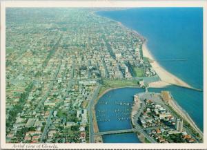 Glenelg Adelaide South Australia AU Aerial View UNUSED Postcard D59