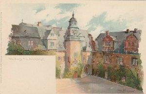 Weilburg a/L , Germany , 1890s ; Schlosshof
