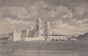 TUCSON, Arizona, 1900-1910's; San Xavier Mission
