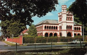 Archbishop's Residence, Port of Spain, Trinidad, W. I., Unused Postcard