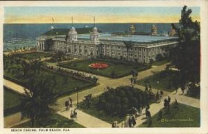 PALM BEACH - BREAKERS HOTEL CASINO & GROUNDS view 1920s era / GUIONNAUD