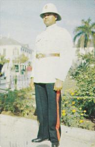 Cunard Line, World's Largest Express Liners, Native Police, NASSAU, Bahamas, ...