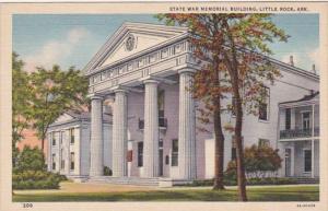 Arkansas Little Rock State War Memorial Building Curteich