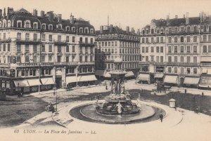 LYON, Rhone, France, 1900-1910's; La Place des Jacobins