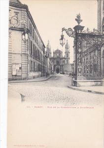 NANCY, Rue de la Constitution & Cathedrale, Meurthe et Moselle, France, 00-10s