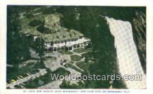 Montmorency Falls Canada, du Canada Hotel Kent House Montmorency Falls Hotel ...
